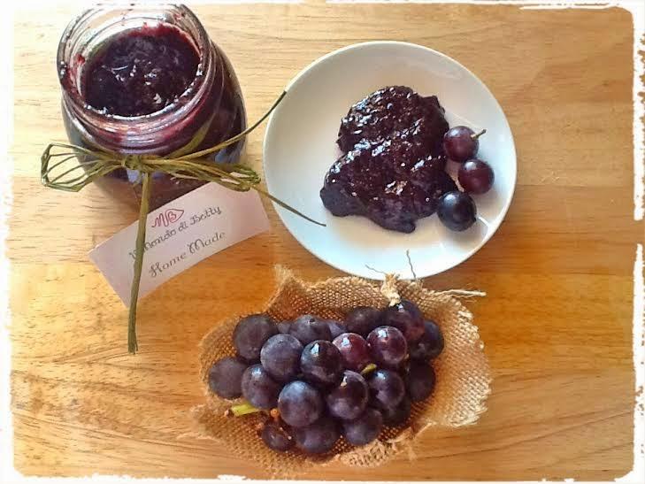 confettura d'uva montepulciano d'abruzzo per l'italia nel piatto