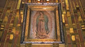 La Tilma de nuestra Señora de Guadalupe