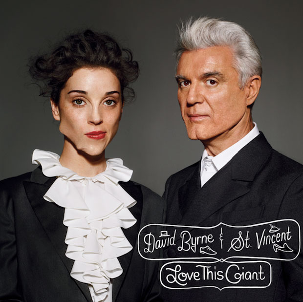 David Byrne St Vincent Giant St. Vincent + David Byrne  Love This Giant (Album Stream)