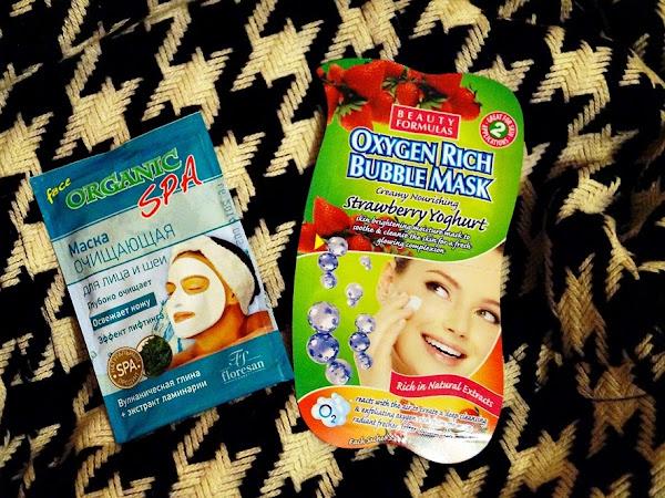 2 sejas maskas : Floresan un Beauty formulas