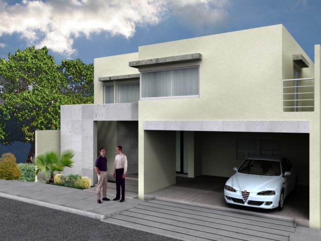 Decoraci n minimalista y contempor nea fachadas - Paginas para decorar casas ...