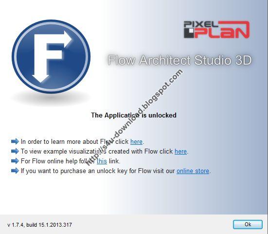 PixelPlan Flow Architect Studio 3D 1.7.4 Build 15.1.2013.317