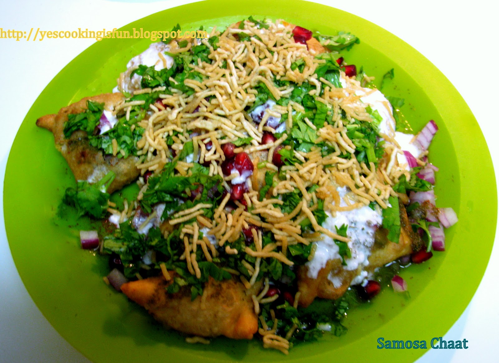 Fun with Cooking: Samosa Chaat