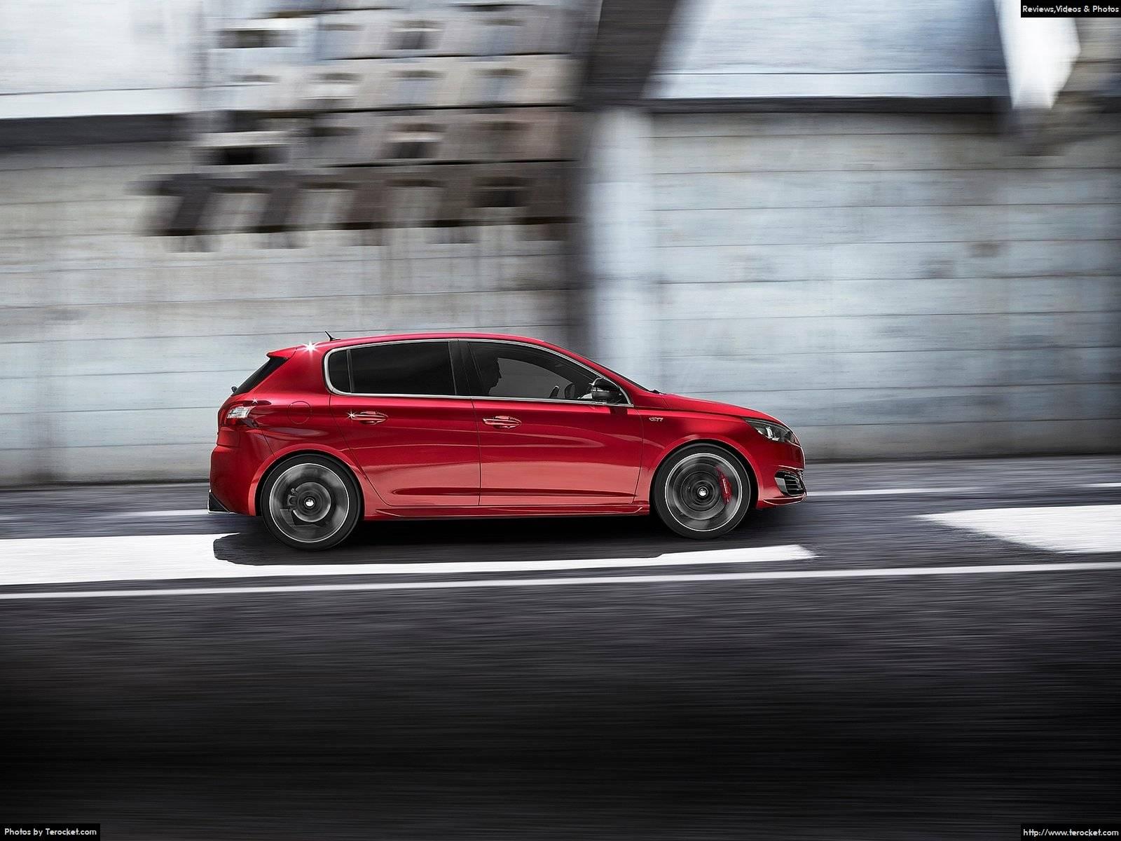 Hình ảnh xe ô tô Peugeot 308 GTi 2016 & nội ngoại thất