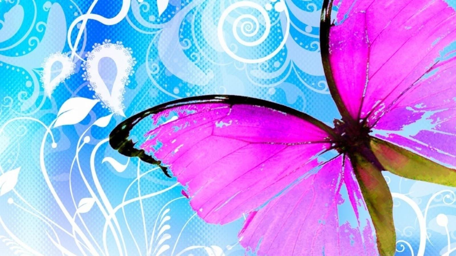 Fondos para whatsapp patada de caballo mariposas for Imagenes fondo escritorio