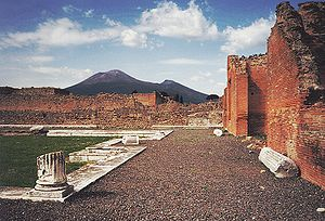 Vesuvius adalah satu-satunya Gunung Berapi Aktif di Eropa Daratan