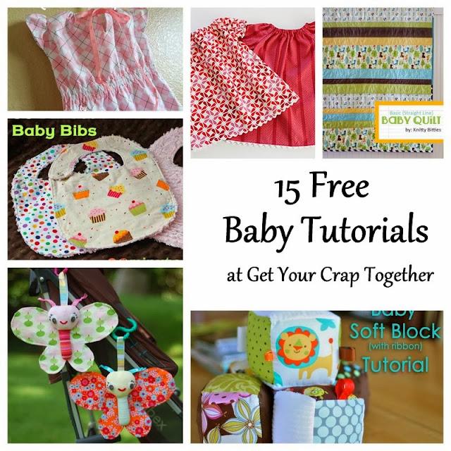 15 Free Baby Tutorials