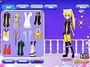 Game thời trang anime, choi game thoi trang hay tại gamevui.biz