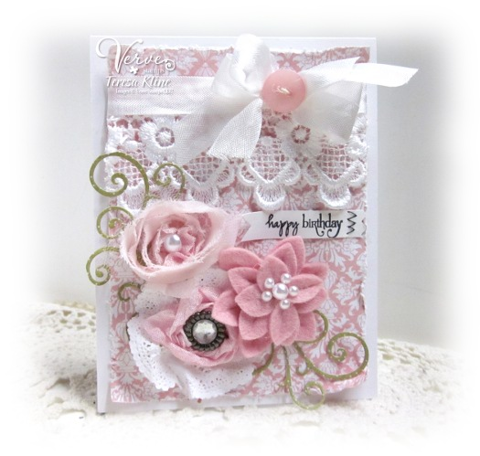 Paperie Blooms Shabby Chic Birthday