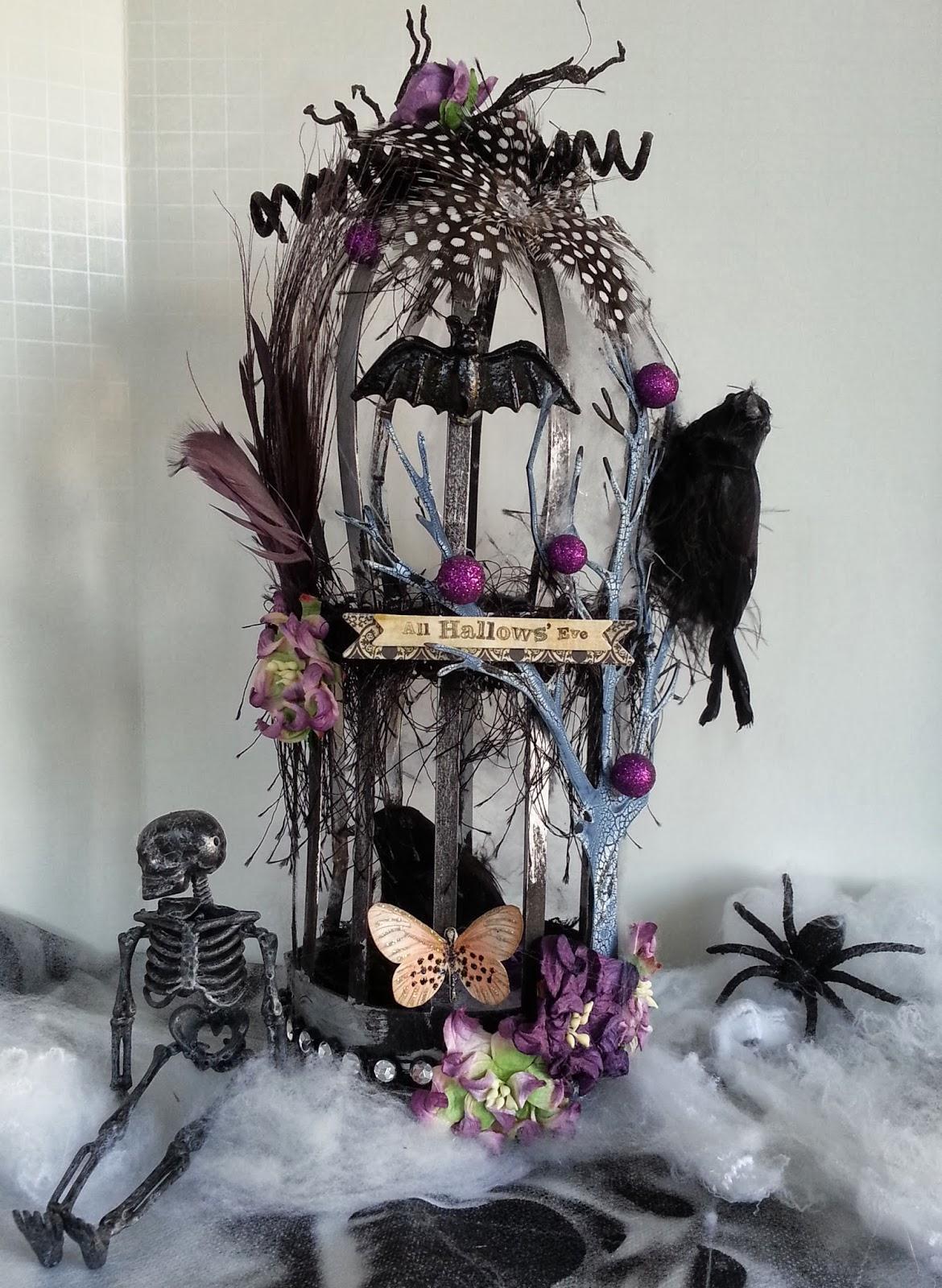 Shelbydoodle designs spooktacular gothic birdcage spooktacular gothic birdcage kristyandbryce Images