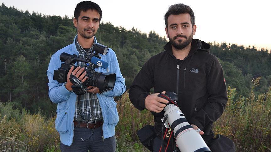 2 Jurnalis Anadolu, Saat Merekam Jet Tempur Rusia