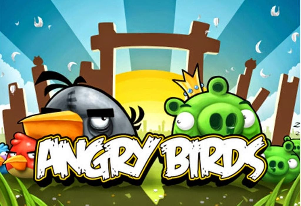 Angry Birds App HD Background Desktop Background Wallpapers