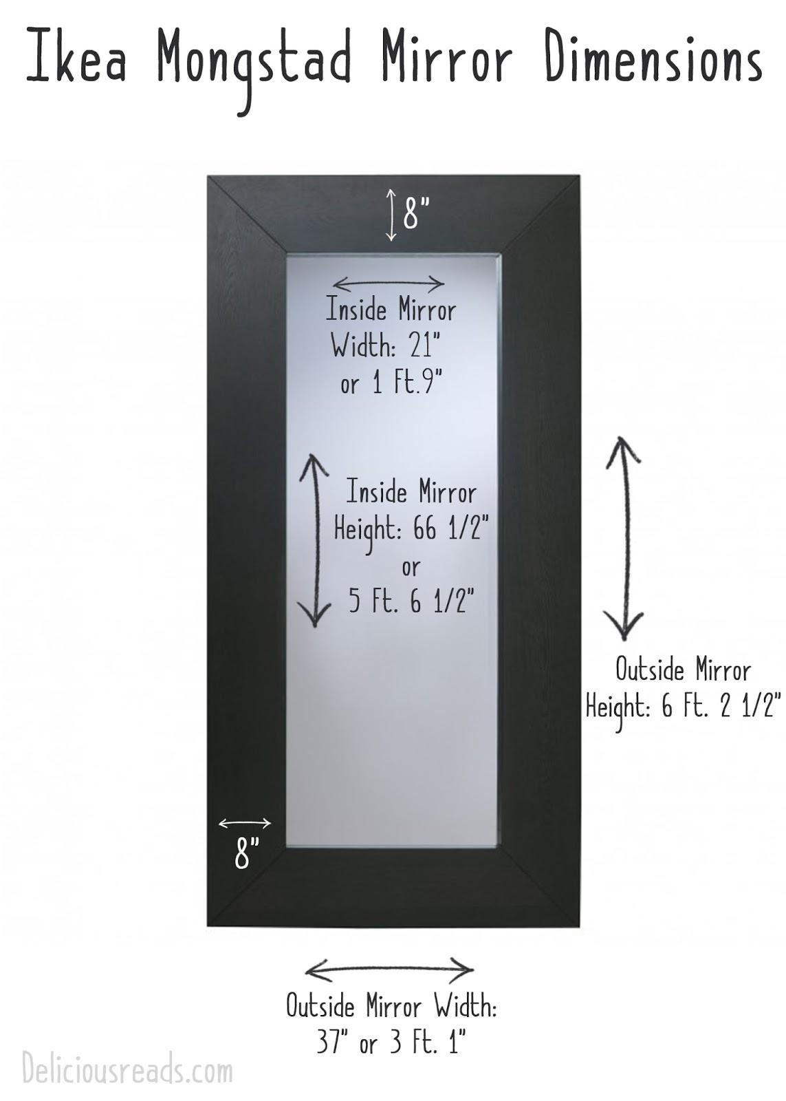 Ikea Mongstad Mirror Delicious Reads Diy Harry Potter Cardboard Mirror Of Erised