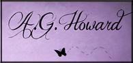 Return to A.G. Howard's Main Website