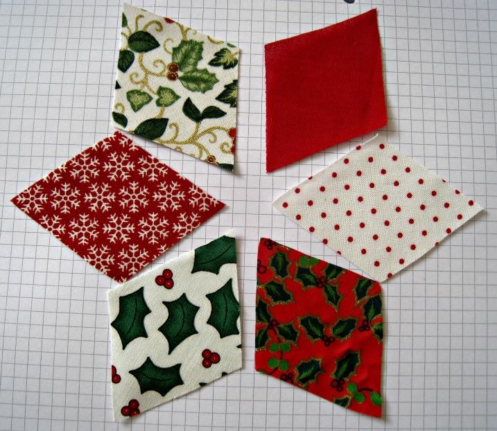 RosMadeMe: Christmas Tutorials Start Here - Chris's Patchwork Decorations - RosMadeMe: Christmas Tutorials Start Here - Chris's Patchwork