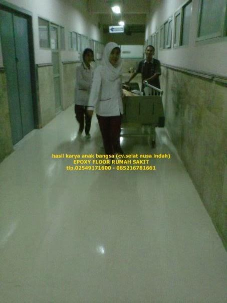 epoxy lantai khusus rumah sakit