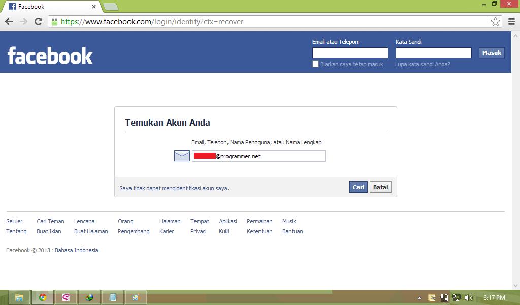 Cara buat facebook dengan mudah untuk membuat akun fb atau facebook