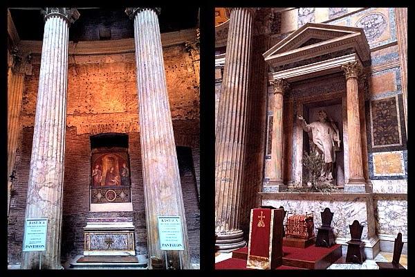 S. Rasio męczennik w Panteonie