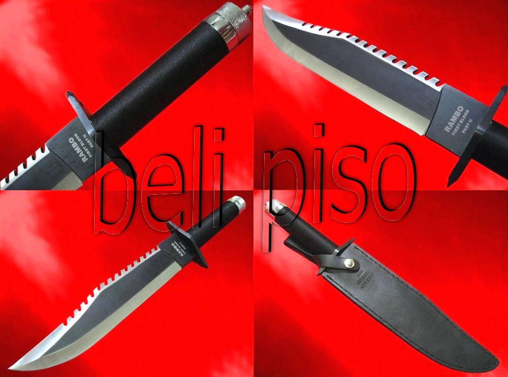 Jual Rambo Knife Part II belipiso.com
