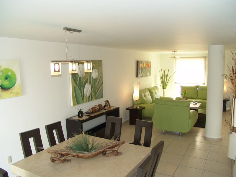 Casas en venta y departamentos casa muestra modelo roble for Decoracion apartamentos modelo