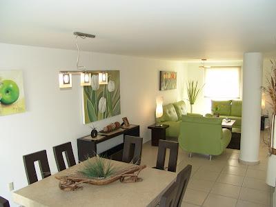 Casas en venta y departamentos casa muestra modelo roble en asturios residencial guanajuato - Decoracion de comedores y salas ...