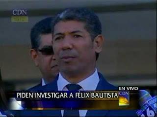 """""""Martelly hizo su primera visita en una aeronave de Félix Bautista"""""""
