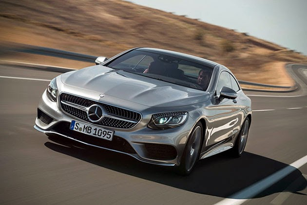 2015 mercedes benz s class coupe for Mercedes benz christmas commercial