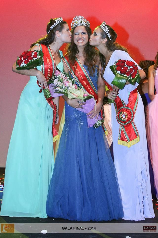 Miss Miss Republica Portuguesa Portugal 2014 winner Zita Oliveira
