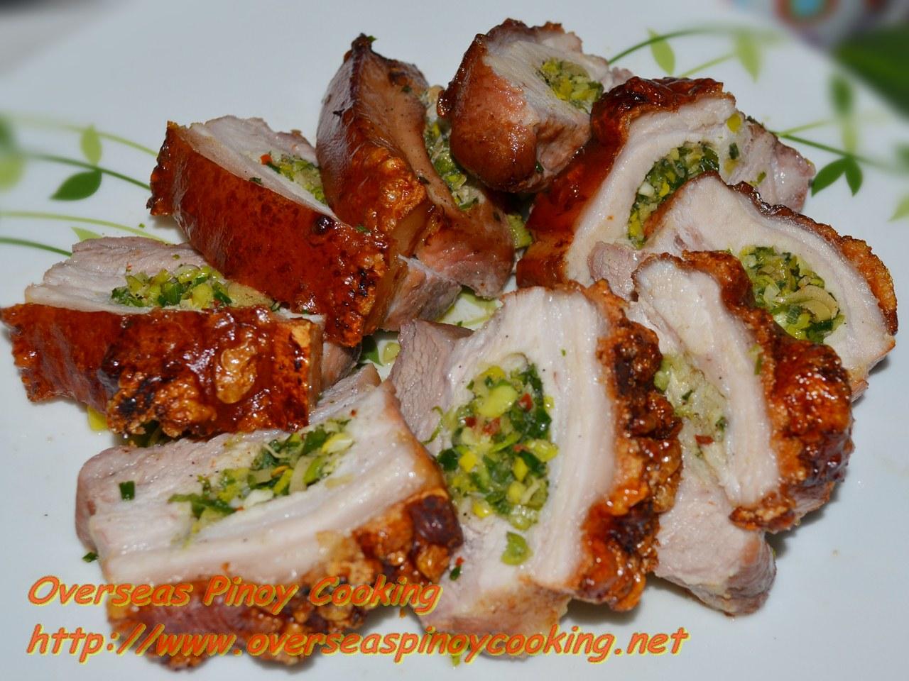 Roast Pork Belly, Balamban Liempo Style