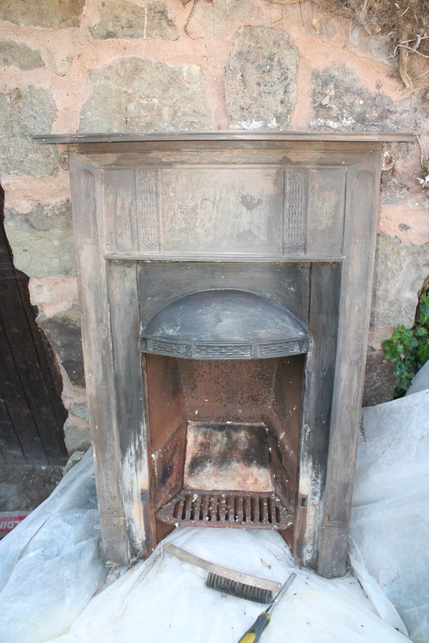 rural retreat restoration fireplace restoration