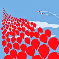 balon merah