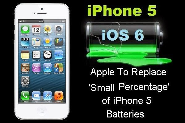 Apple iPhone 5 Defective Battery Issue