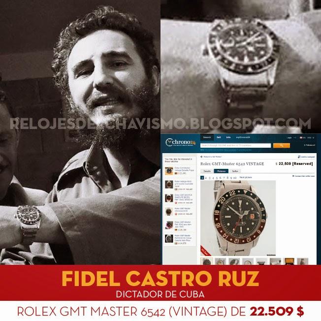 Resultado de imagen para FIDEL CASTRO ROLEX