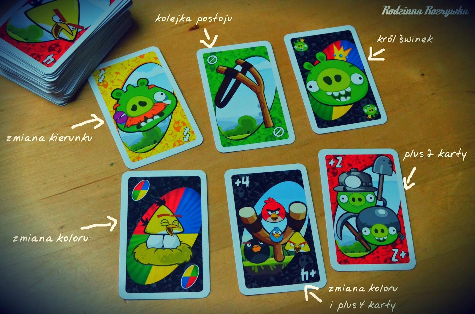 Uno Angry Birds Rodzinna Rozrywka 24 7