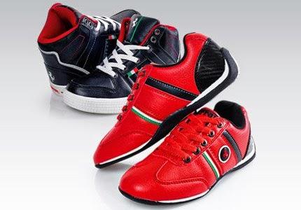 Tenisówki buty chłopięce Ferrari z Biedronki