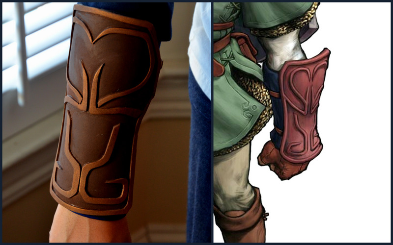 Lots of progress on my Link Legend of Zelda costume