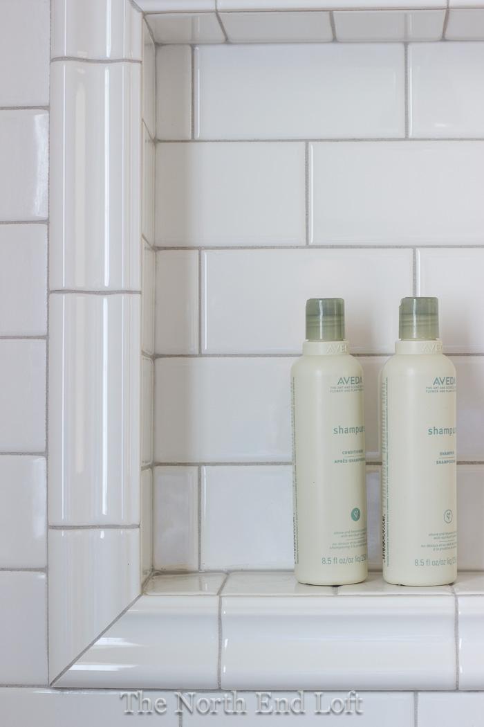 The North End Loft Master Bathroom Reveal