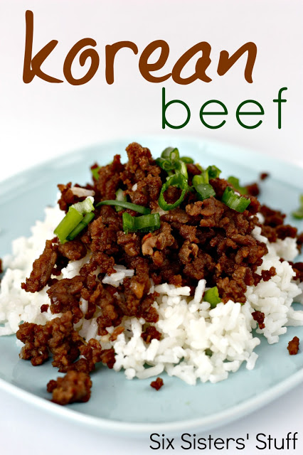 15 Easy Meal Planning Meals :: OrganizingMadeFun.com -- Korean Beef