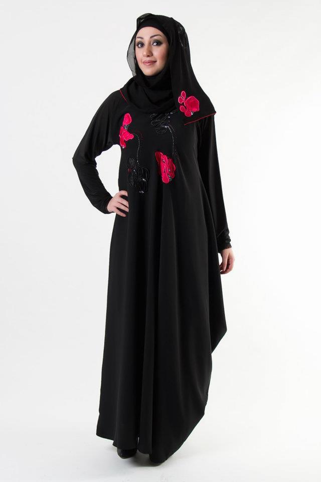 Abaya   Abaya Designs Collection 2013-2014   Abaya's from Al-Karam ...