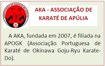 ASSOCIAÇÃO DE KARATÉ DE APÚLIA