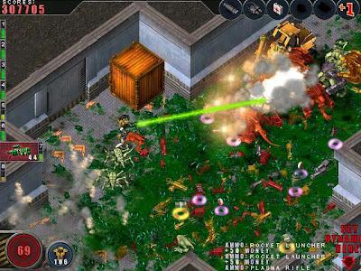 Free Download Alien Shooter Full Version, Alien shooter Game PC Gratis