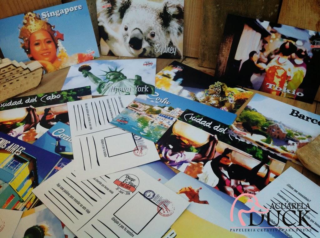 libro de firmas postales