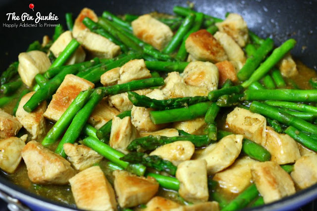 Lemon Chicken Asparagus Stir Fry