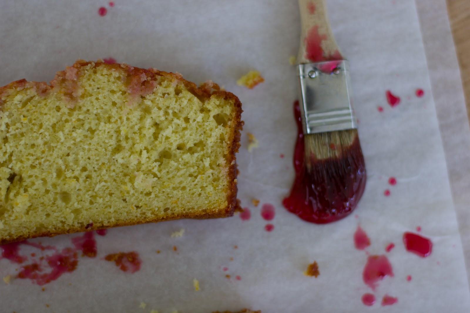 The Vanilla Bean Blog   blood orange olive oil loaf cake