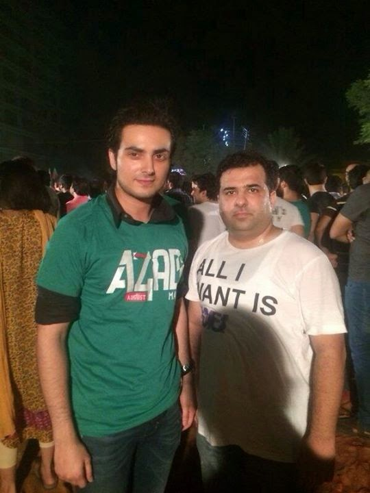 Celebrities Spotted at Azadi March