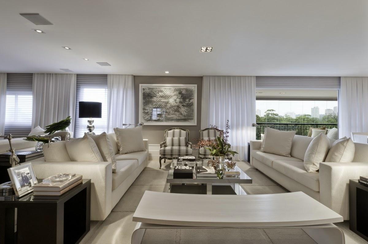 Saiba como deixar sua casa sofisticada confira 10 dicas for Sala de estar fendi