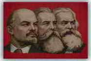 Μαρξ, Ένγκελς, Λένιν