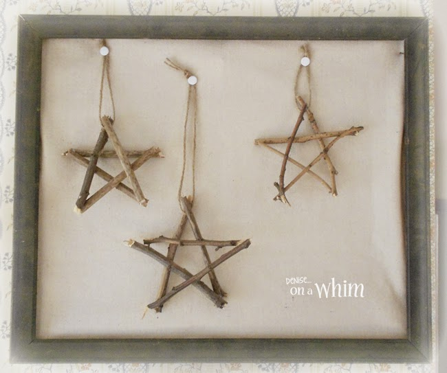Twig Stars in a Frame from Denise on a Whim