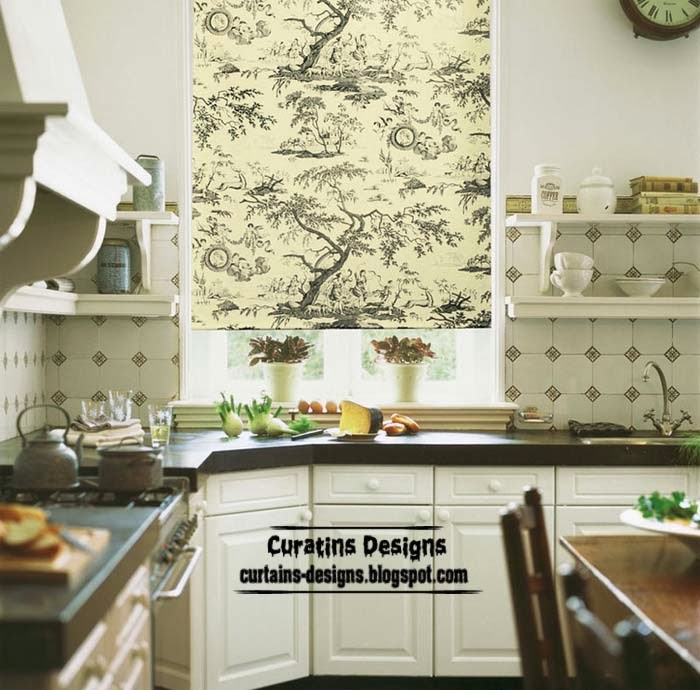 Roller Blinds On The Windows Interiors Designs Ideas Models