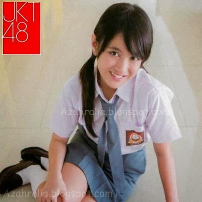 Nabilah JKT48 pake baju SMA  Nabilah Jkt48 Tanpa Pakaian